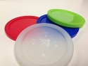 lids in many colors and materials
