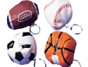 Sport Pouch Keychains<br /> 864 pieces per case assorted<br />US$ 0.49