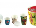 Paper Cups and Chicken Buckets